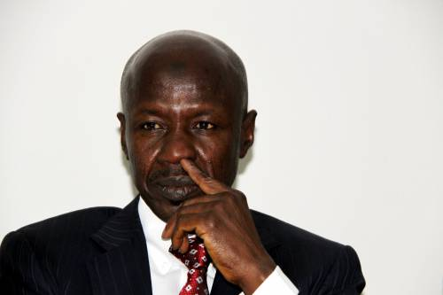 Corruption Fighter, Magu, drowns in political storm, By Kings UBA