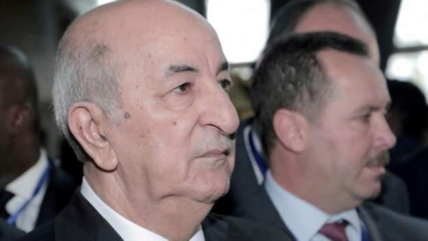 Algerian President returns to Germany for COVID-19 treatment