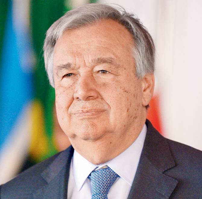 2021 critical in fight against COVID-19, climate change–UN's Guterres
