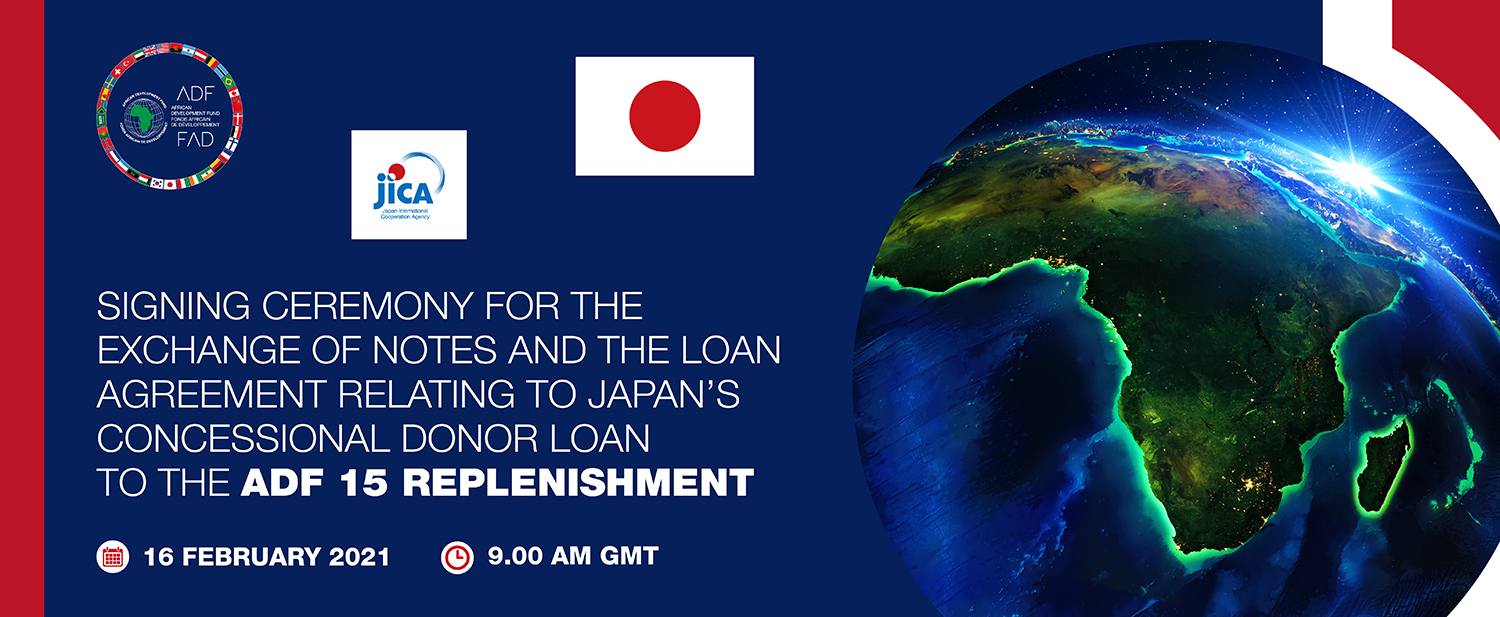 African Development Fund: Japan, AfDB Group, sign JPY 73.6bn loan pact