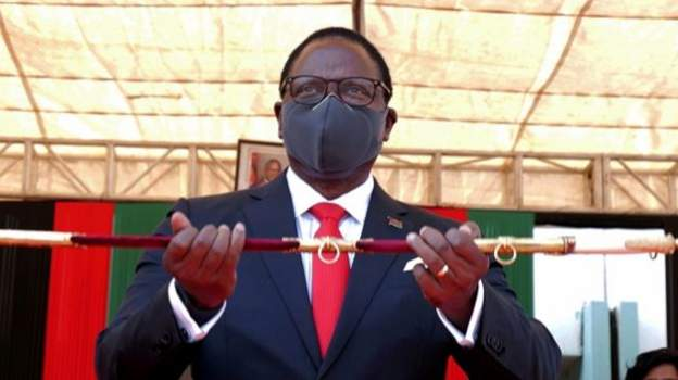 Malawi president sacks heads of Covid taskforce over embezzlement