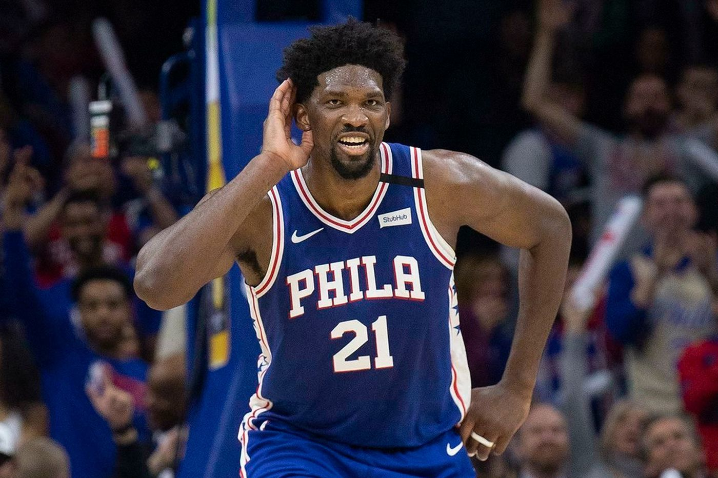 Philadelphia 76ers' Joel Embiid Named Eastern Conference Player of the Month
