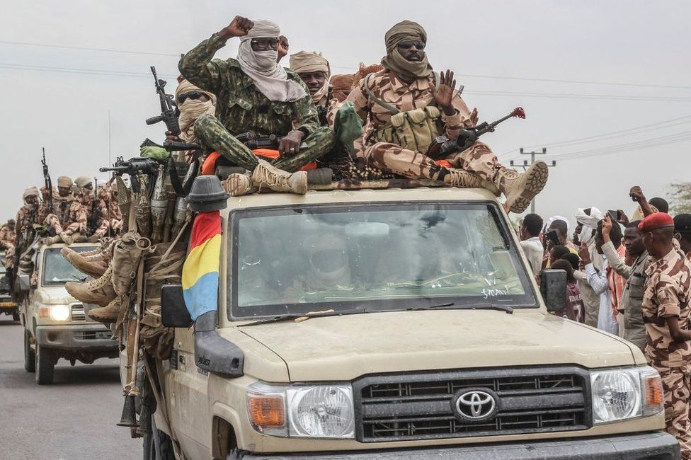 Chad's Military Stages 'Victory Parade' Claiming Win Over Rebels