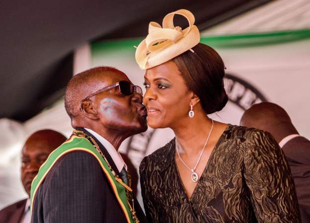 Mugabe's widow faces traditional court over 'improper' husband's burial