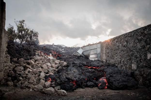 Horror of Congo's Mount Nyiragongo volcanic eruption