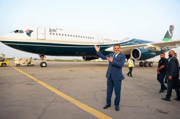 Gaddafi's 'Flying Palace' returns home after nearly a decade