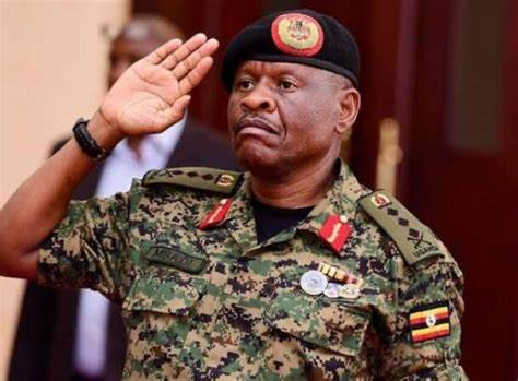 Museveni appoints, Gen Madi, his former body guard to head the army
