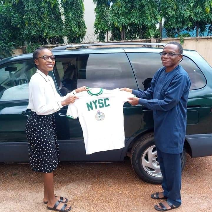 Nigerian Don preserves ceremonial uniform for 37 years, gifts same to daughter