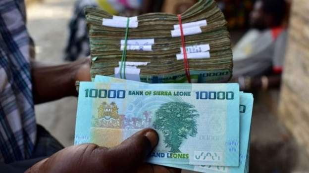 Sierra Leone to devalue currency, drop 3 zeroes to achieve 10L to 1USD