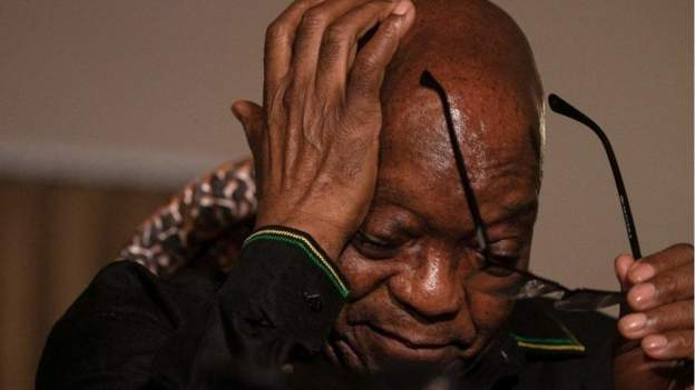 Zuma granted leave, admitted for medical check-up outside prison