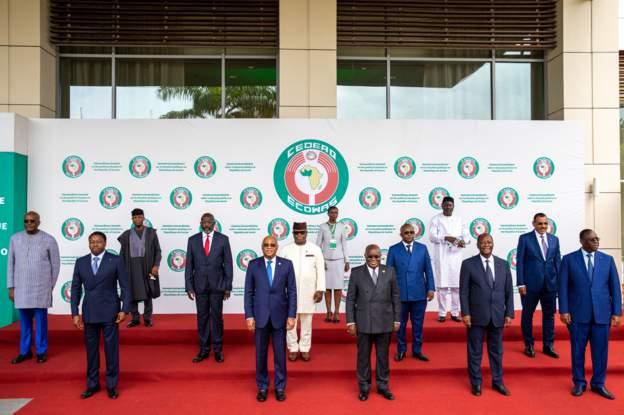Ecowas leaders slam travel bans, asset freezes on Guinea junta leaders