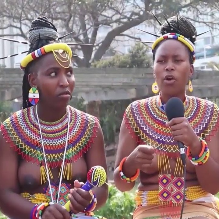 Zulu Reed Dance: Beautiful contrast of appearance and implication